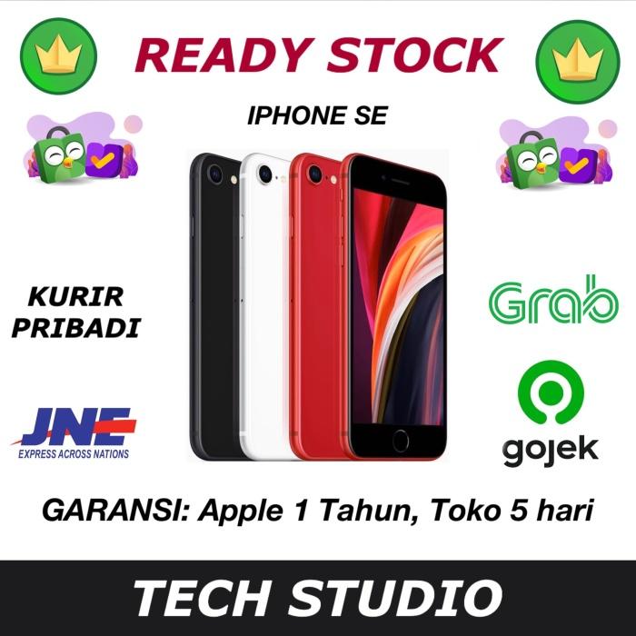 Foto Produk iPhone SE 2020 256GB 128GB 64GB Garansi Apple 1 Tahun - GRS APPLE INTER, 64GB dari Tech Studio Indonesia