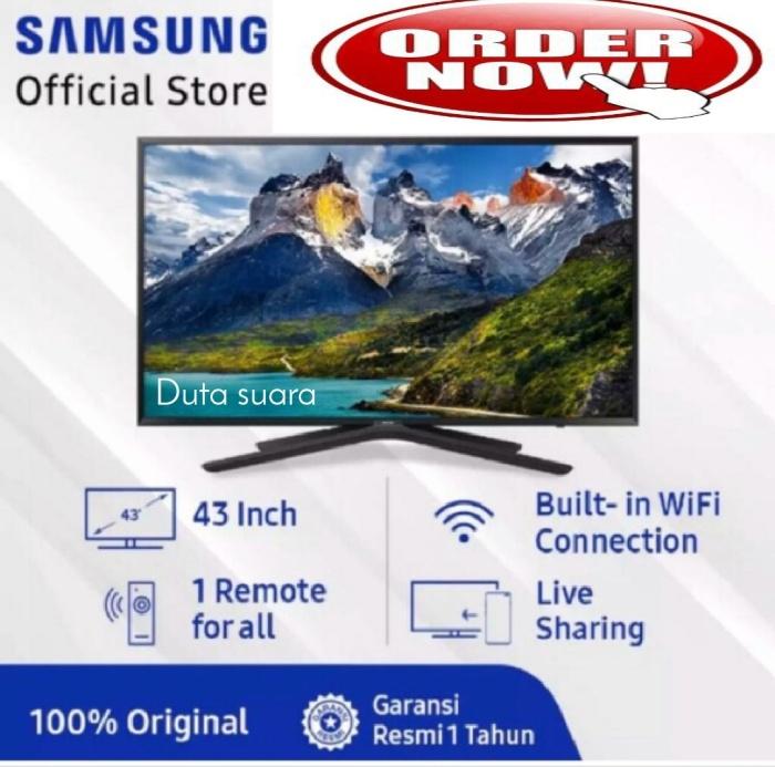 Foto Produk TV LED SAMSUNG 43 Inch 43N5500 Super Smart TV Digital Full HD dari Duta suara elektronik.