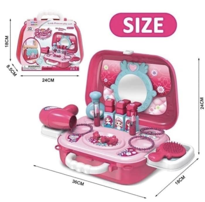 Foto Produk DREAM FASHION YOU KOPER - MAINAN CEWEK MAKE UP SET Anak Perempuan dari Lumi Toys