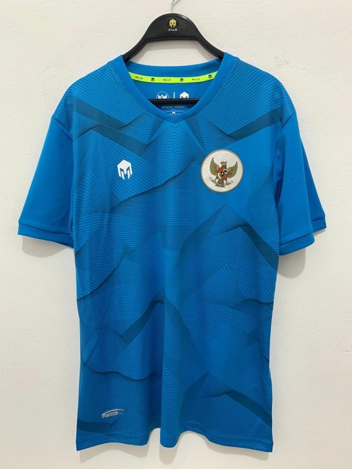 Foto Produk MILLS TIMNAS baju latihan Garuda Training code 1013GR Turquise origina dari Kicosport