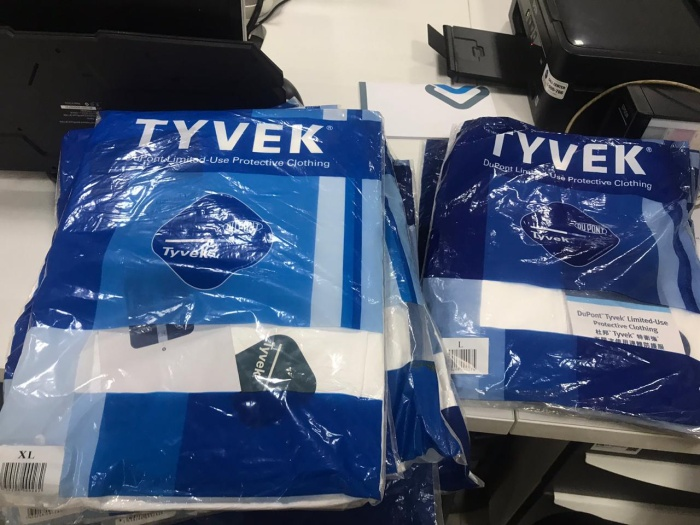 Foto Produk APD/ Coverall anti virus Tyvek ready stock dari beavisstore