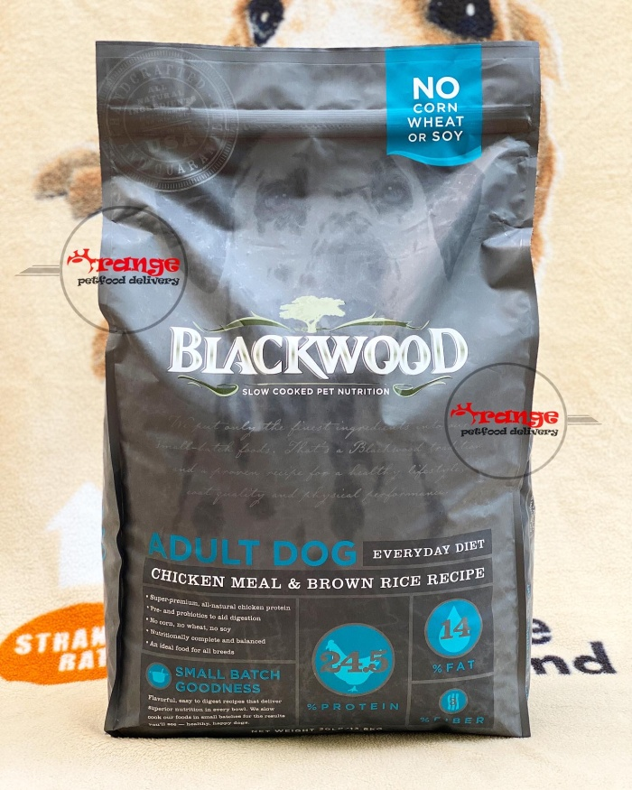 Foto Produk blackwood adult chicken & rice 13,6 kg dog food dari orange petfood delivery