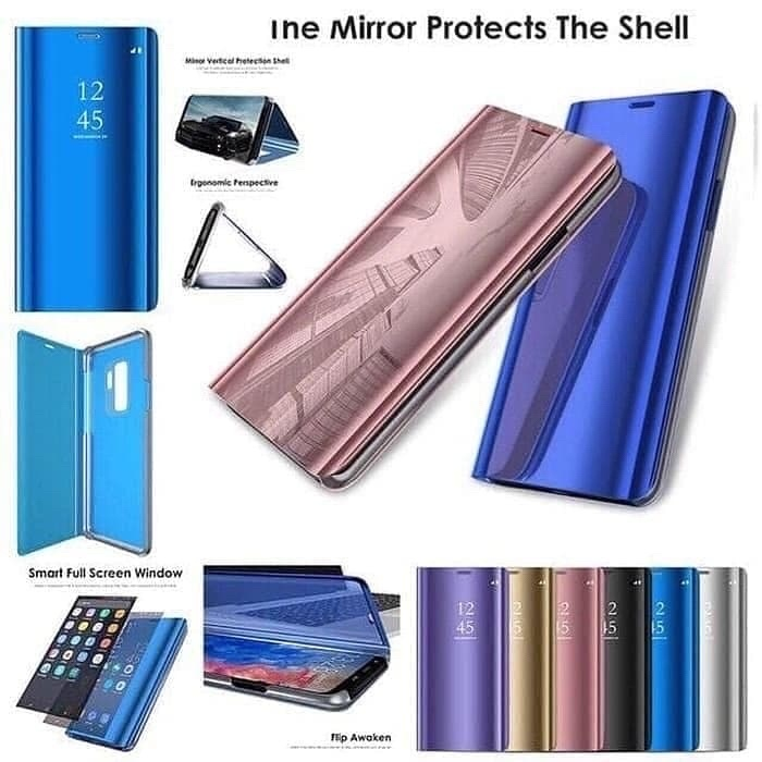 Foto Produk FLIP COVER MIRROR/CLEAR VIEW STANDING SAMSUNG A31 dari Krypton Accessories