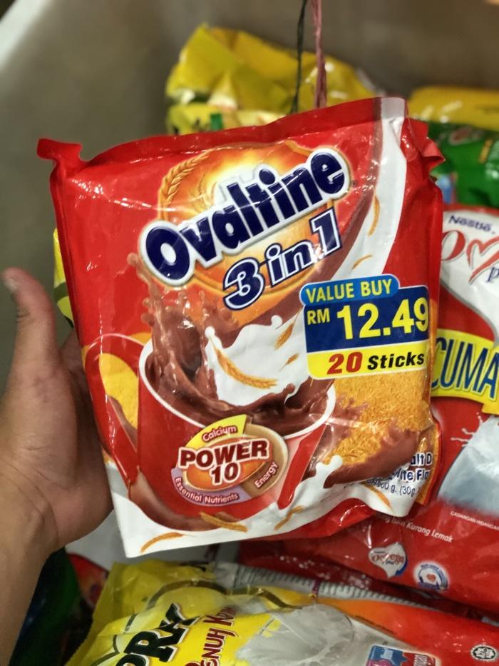 Jual Ovaltine 3 In 1 Malaysia 20 Sticks Malt Drink Chocolate Flavour Jakarta Barat Gepseed Tokopedia