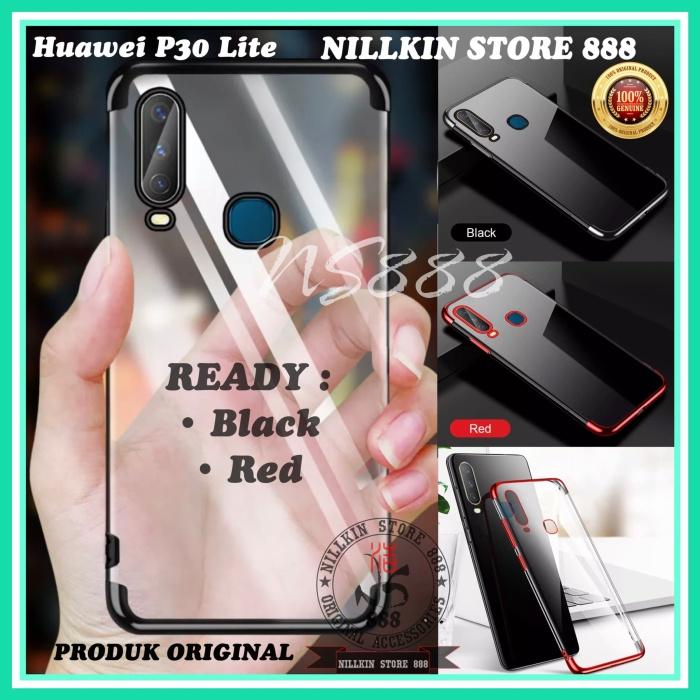 Foto Produk HUAWEI P30 LITE PLATING LIST COLOR JELLY SOFT CASE TRANSPARAN SOFTCASE dari Nillkin Store 888