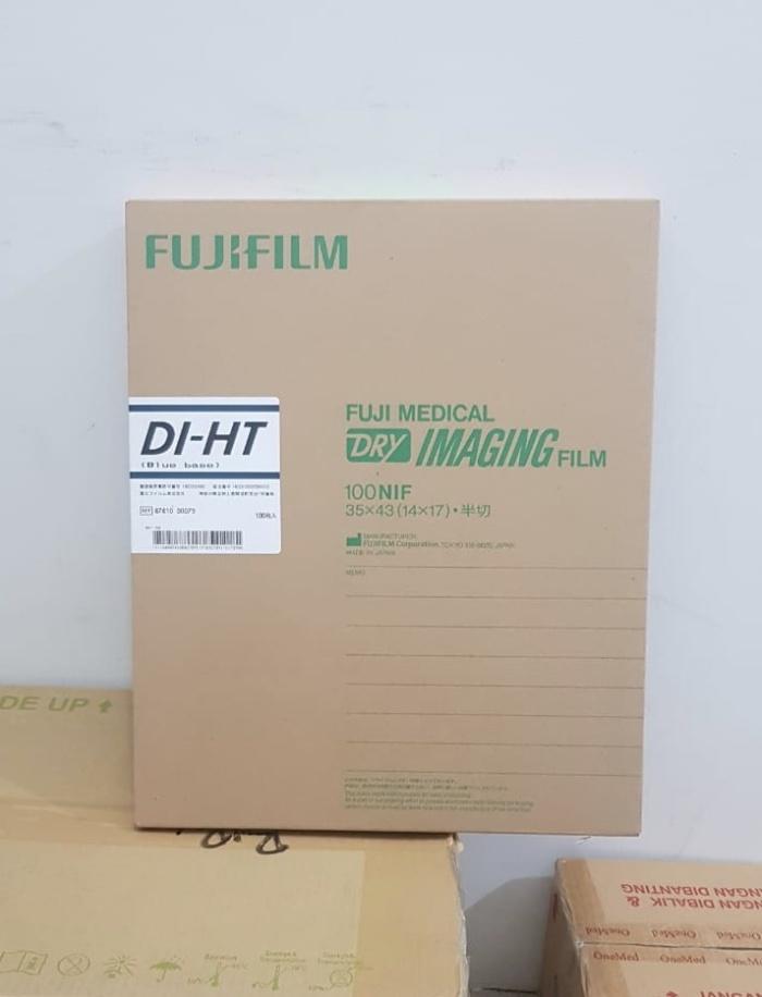 Foto Produk Fuji medical x ray film ronsen DIHT 35x43 / Kertas film rontgen DI-HT dari Gudang Sehat Store