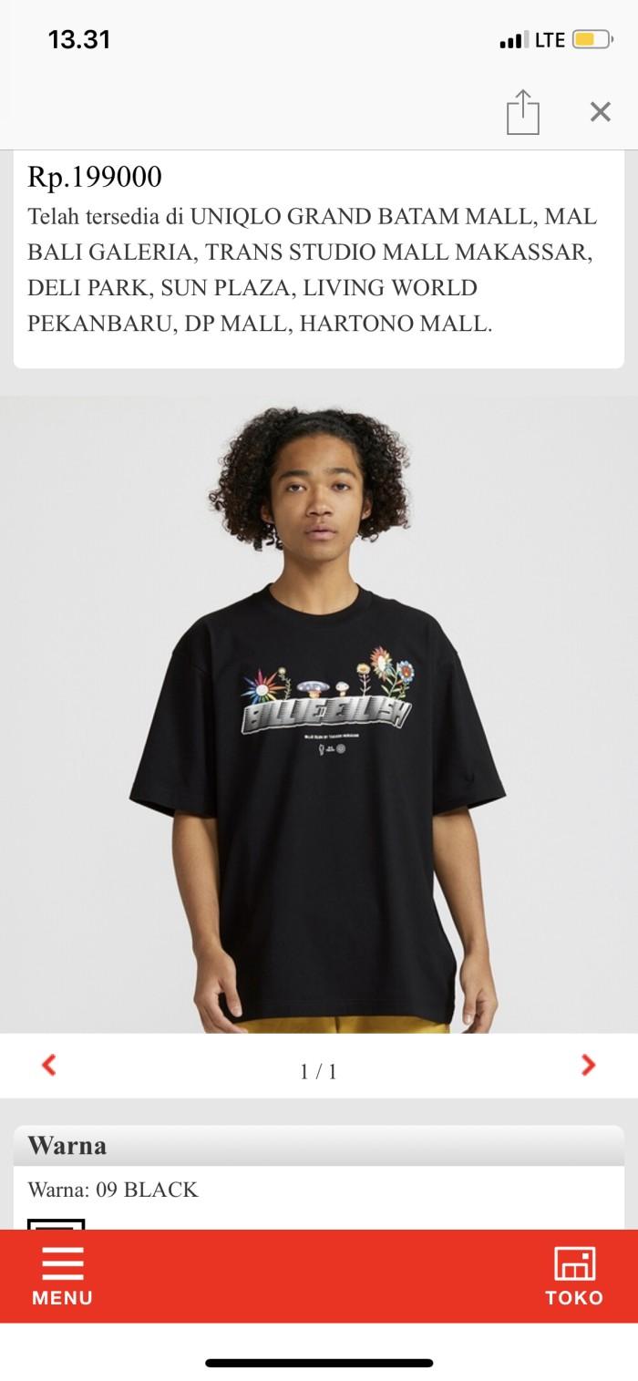 Foto Produk T shirt Uniqlo Billie Eilish X Takashi Murakami dari rnsid