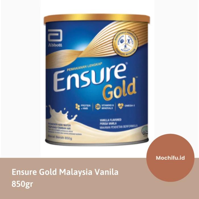 Jual Abbott Ensure Gold Malaysia Vanila Vanilla Susu Lansia Orang Tua Impor Jakarta Utara Mochifu Id Tokopedia