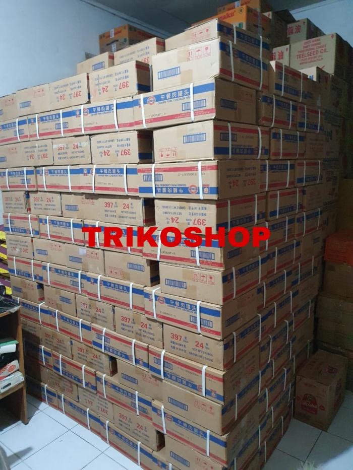 Foto Produk MaLing Pork Canned TTS 397gr / 1 DUS isi 24 Kaleng dari trikoshop