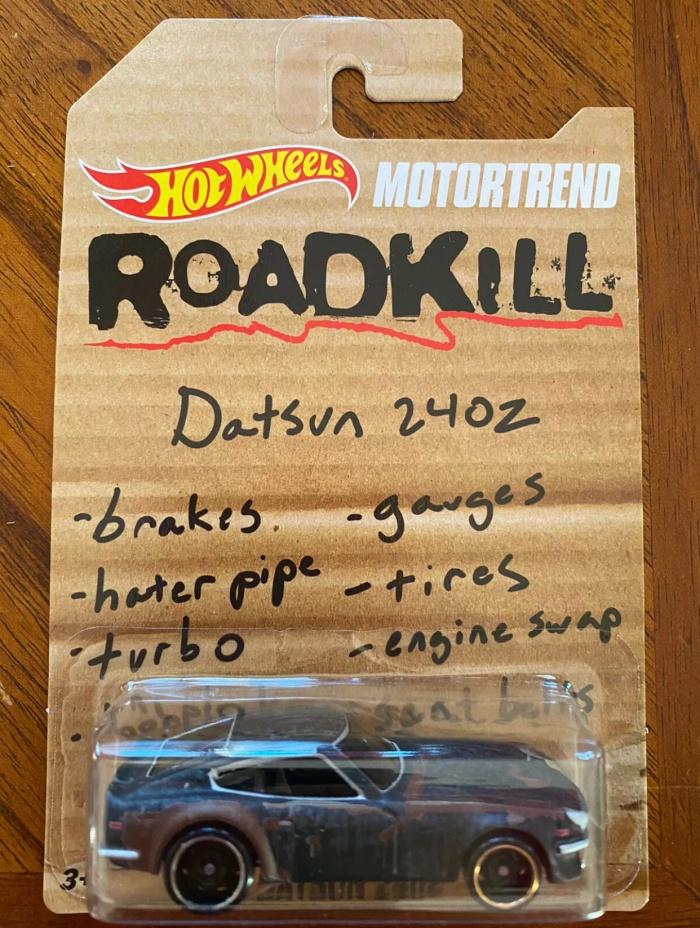 Jual Hot Wheels Motortrend Roadkill 71 Datsun 240z Limited Edition Jakarta Pusat Wacanen Tokopedia