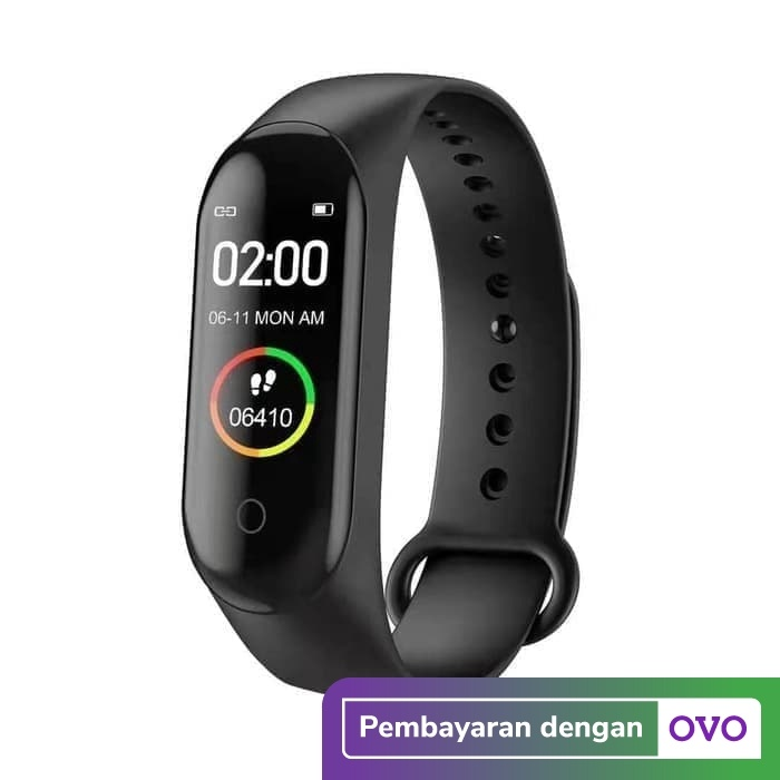 Foto Produk Smartwatch M4 - Smart Watch M4 - Smartband M4 - Jam Tangan Kesehatan dari PINZY Official Store