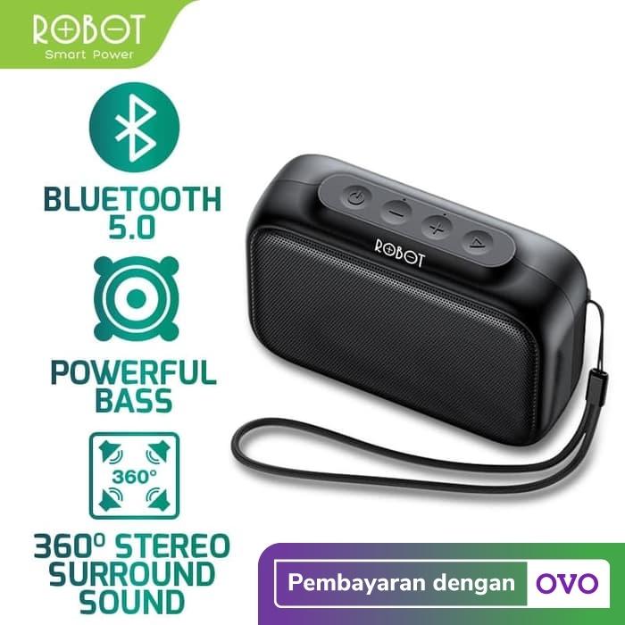 Foto Produk ROBOT Speaker Bluetooth 5.0 Mini Portable Support Micro SD & USB RB100 dari ROBOT OFFICIAL SHOP