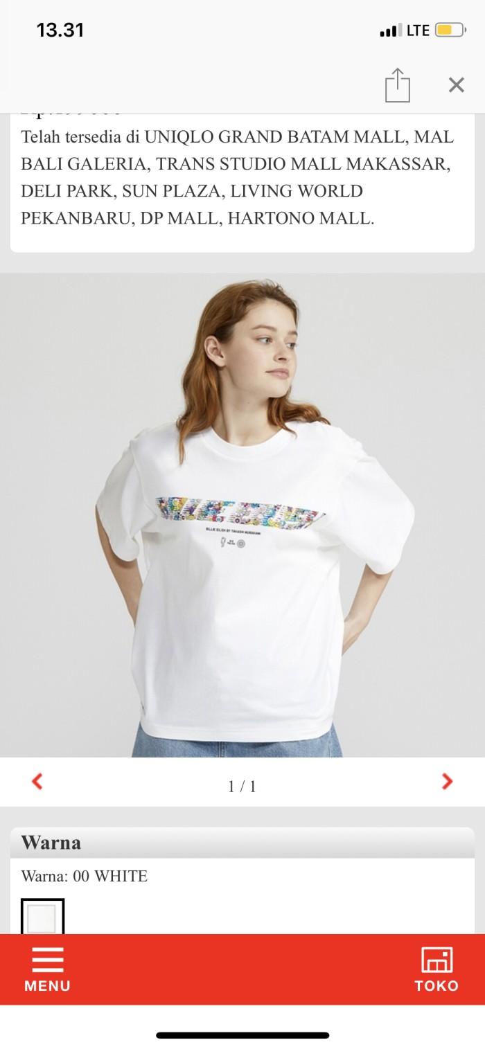 Foto Produk Tshirt Uniqlo Billie Eilish X Takashi dari rnsid