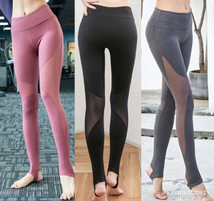 Jual Celana Legging Sport Mesh Transparan Gym Olahraga Wanita Jakarta Timur Olataaa Collection Shop Tokopedia