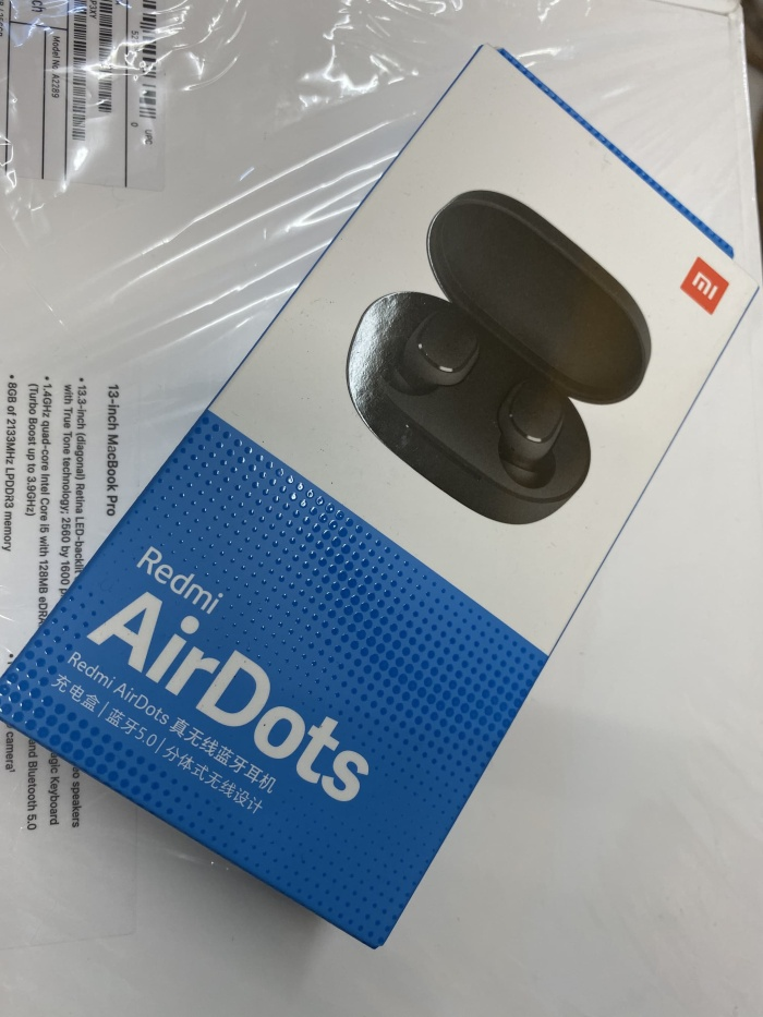 Foto Produk Xiomi airdots original 100% (bukan tam) dari vivi cellular