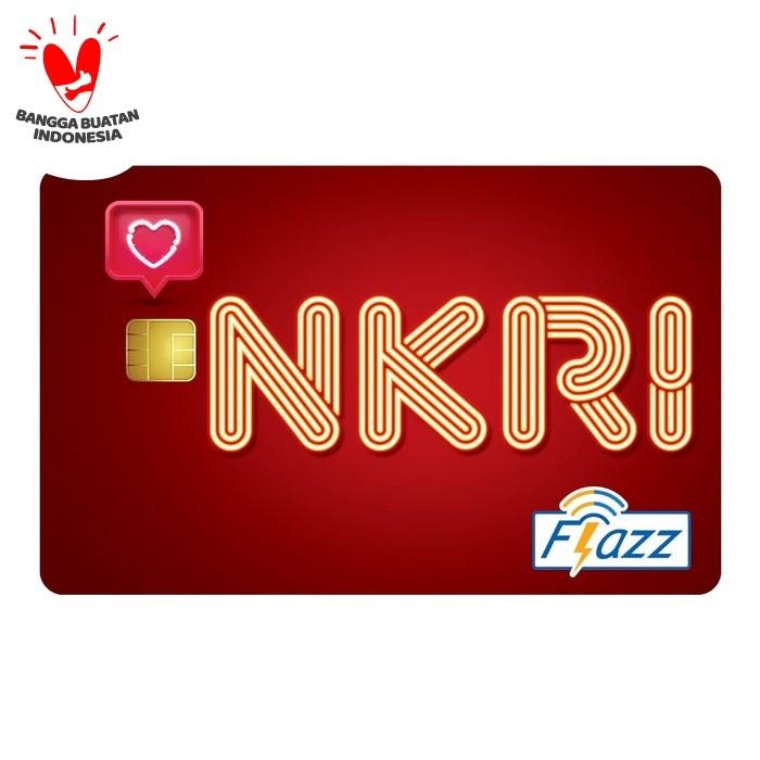 Foto Produk Kartu Flazz Limited Edition HUT RI Merah Berlogo Baru dari Flazz Official Shop