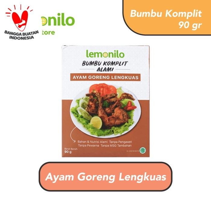 Foto Produk Lemonilo Bumbu Komplit Alami Ayam Goreng Lengkuas 90 gr dari Lemonilo