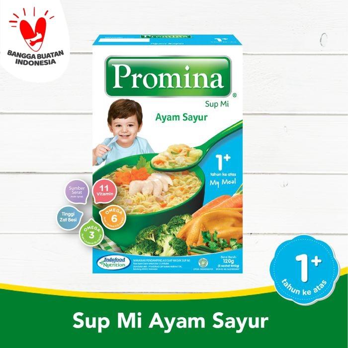 Foto Produk PROMINA SUPMI AYAM & SAYUR NEW BOX 120 GR X 1 PCS dari Promina Official Store