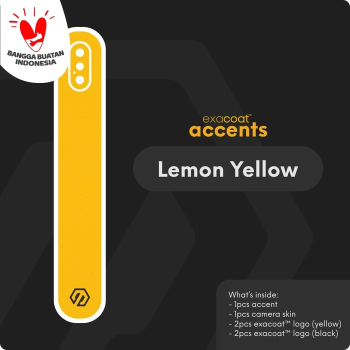 Foto Produk exacoat accents 3M Skin / Garskin - Bright Accents - Lemon Yellow dari Exacoat