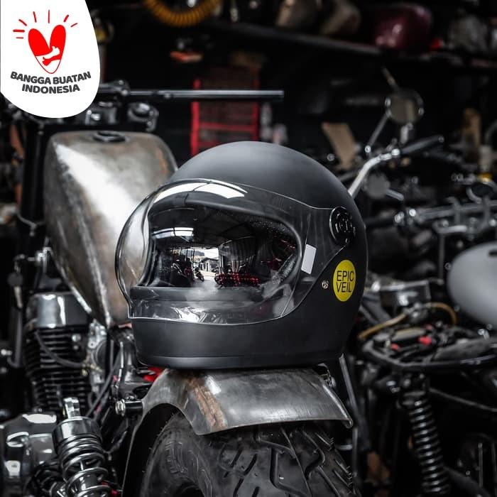 Foto Produk Epic Helmet Fullface Classic Black Matte dari Epic Veil