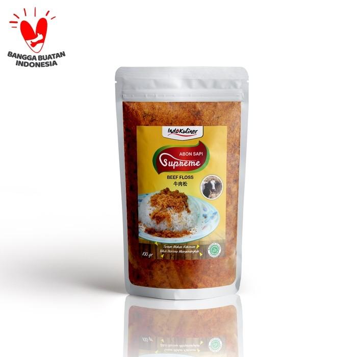 Foto Produk Abon Sapi Supreme Asli - 100 Gram dari Indokuliner Official