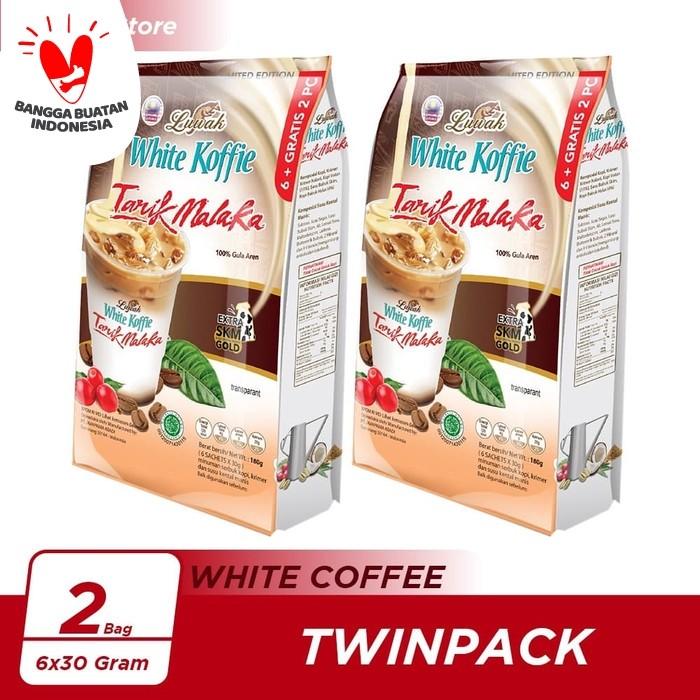 Foto Produk Kopi Luwak White Koffie Tarik Malaka Bag 6x30gr Twin Pack dari Kopi Luwak Official