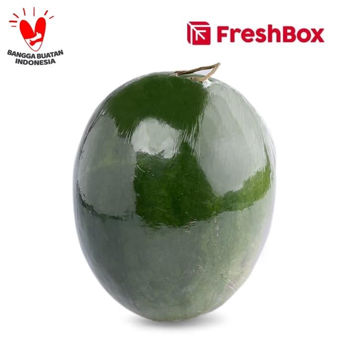 Foto Produk FreshBox Semangka Non Biji 1 pcs (3- 3,5 kg) dari FreshBox