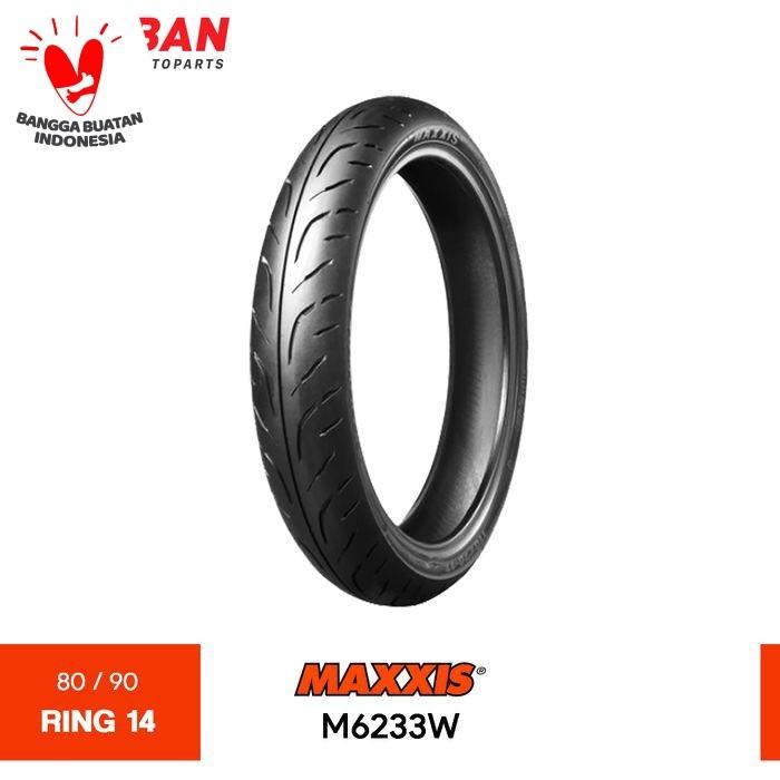 Foto Produk Ban Motor MAXXIS TL M6233W 80/90 Ring 14 Tubeless dari Proban Motoparts