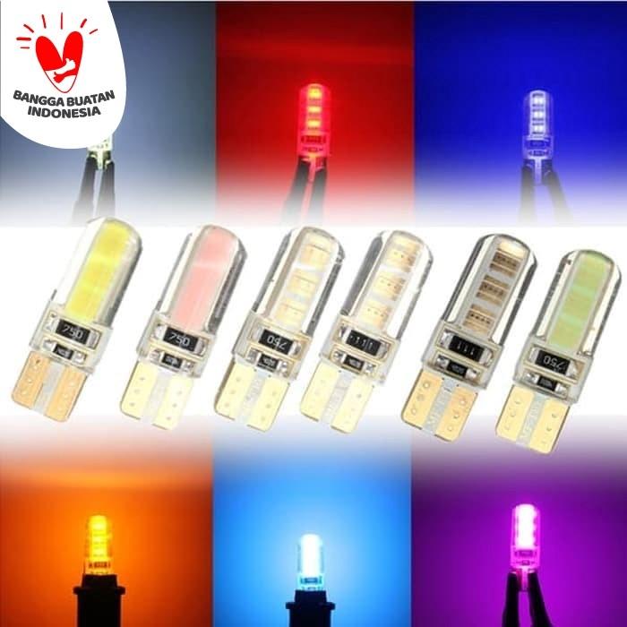 Foto Produk Lampu LED T10 Gel Jelly Plasma lampu senja plat premium - Putih dari Best Accessories