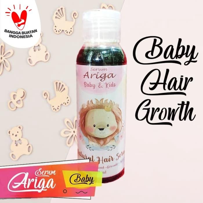 Foto Produk Penumbuh Rambut Bayi - 4 Natural Hair Growth - 100 ml - Ariga Serum Ba dari Alamon