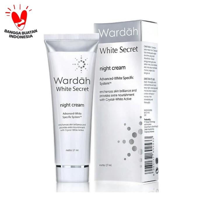Foto Produk Wardah - White Secret Night Cream 17 ml dari Wardah Official