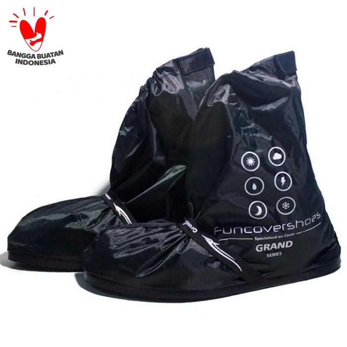 Foto Produk Distributor | Cover Shoes Grand Funcover Warna Hitam | Mantel Sepatu dari ZackyBylla Shop