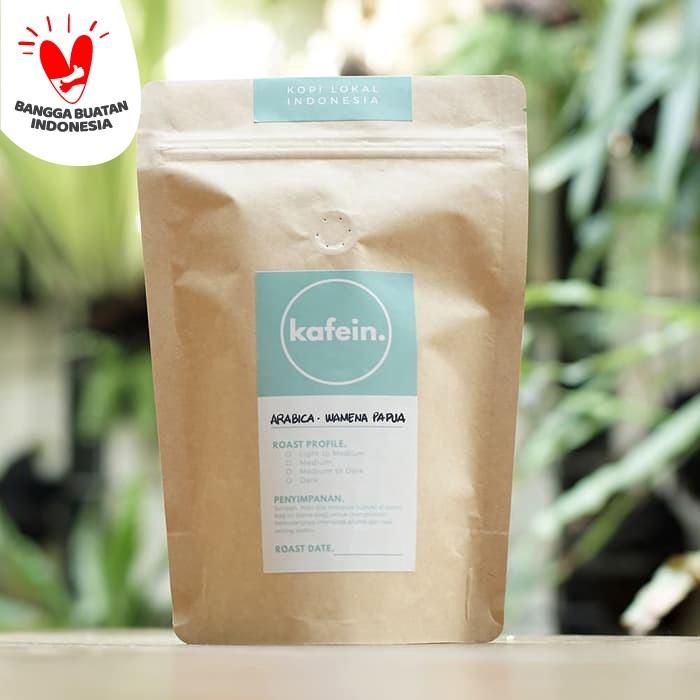 Foto Produk Kopi Arabika Papua Wamena 250 Gram ( Biji / Bubuk ) - Biji dari Kafein
