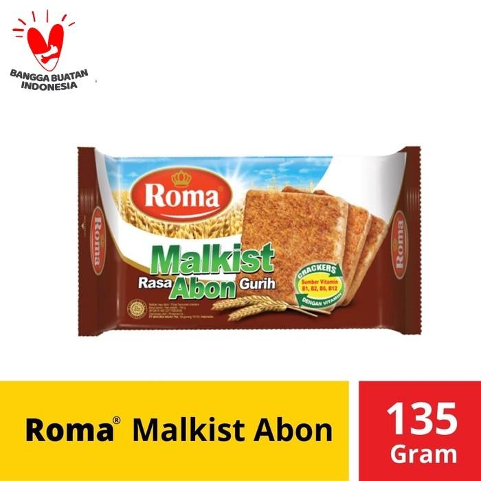 Foto Produk Roma Malkist Abon Crackers @135 Gr dari Mayora Official Store