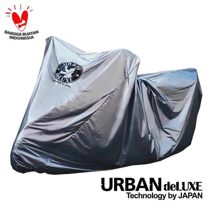 Foto Produk Cover sarung motor urban deluxe jumbo NMAX PCX AEROX CBR R15 Ninja GSX dari lbagstore