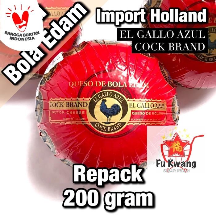 Foto Produk Keju Bola Edam Ayam Emas Holland repack 200 gram dari Fu Kwang Mart