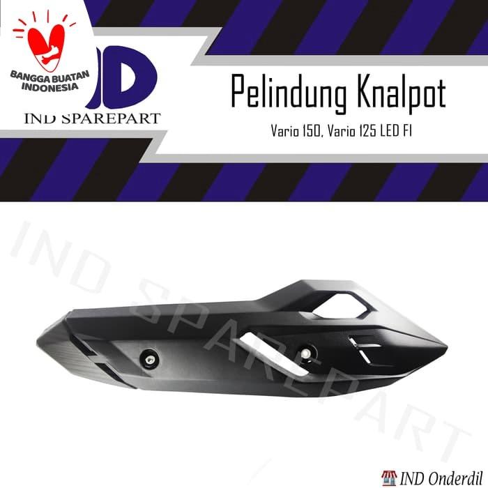 Foto Produk Cover Tutup Pelindung Knalpot-Kenalpot Vario 150/Vario 125 LED FI dari IND Onderdil