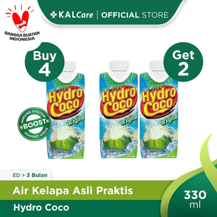 Foto Produk Buy 4 Get 2 Free Hydro Coco 330ml dari KALCare Official Store