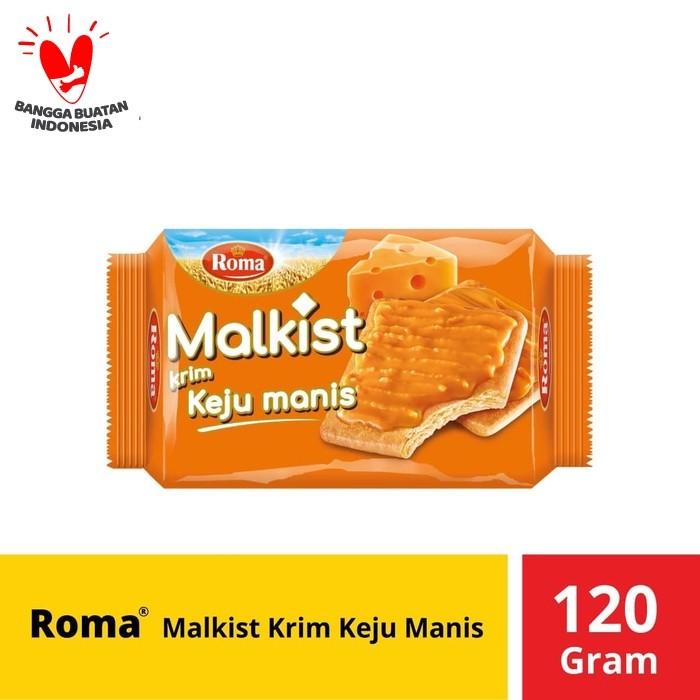Foto Produk Roma Malkist Krim Keju Manis 120 Gram dari Mayora Official Store