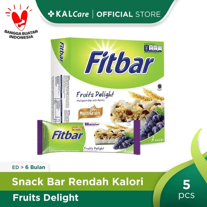 Foto Produk Fitbar Fruits 5X25G Bundling 3 Kotak dari KALCare Official Store