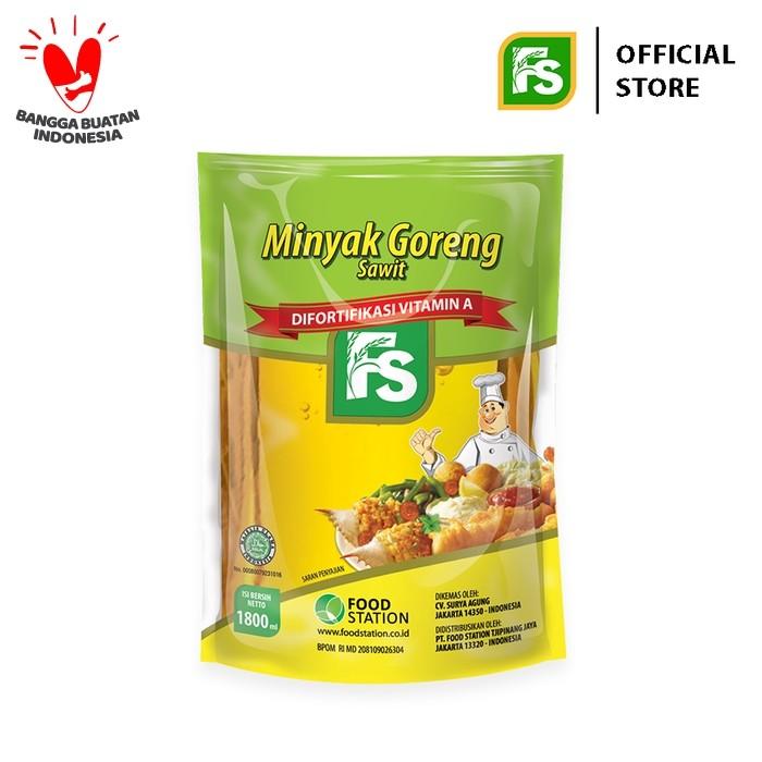 Foto Produk FS Minyak Goreng Super 1800 Ml dari Food Station