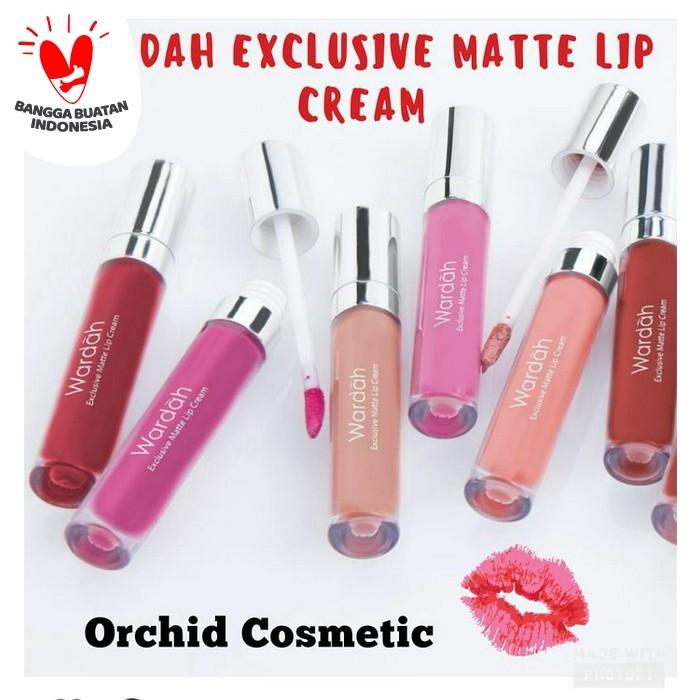 Foto Produk New Wardah Exclusive Matte Lip Cream dari Orchid Cosmetic