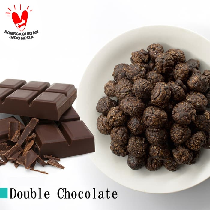 Foto Produk Dark Chocolate Popcorn - Magi Planet (Premium Range) dari Magi Planet Popcorn