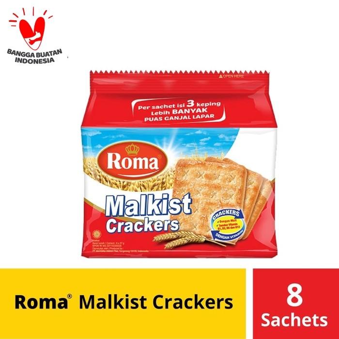 Foto Produk Roma Malkist Crackers 8 Sc @27 Gr dari Mayora Official Store