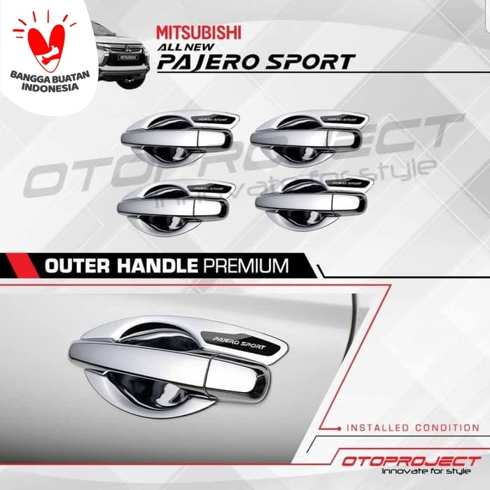 Foto Produk Outer Handle / mangkok Cover Handel Pintu Chrome All New Pajero Sport dari Mega Oriental Motor
