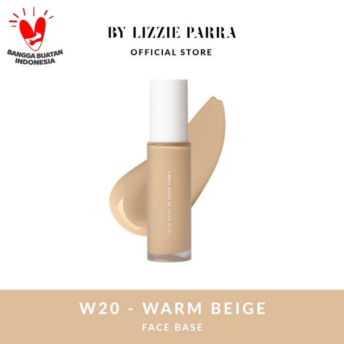Foto Produk FACE BASE BLP - W20 - WARM BEIGE dari BLP Beauty