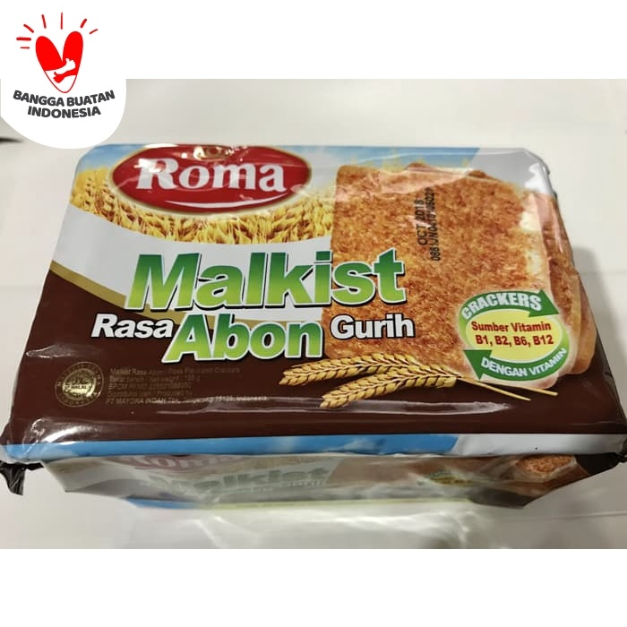 Foto Produk Roma Malkist Rasa Abon 135gr / Kotak Rasa Gurih 135 gr gram / Grosir dari Ben Motoshop