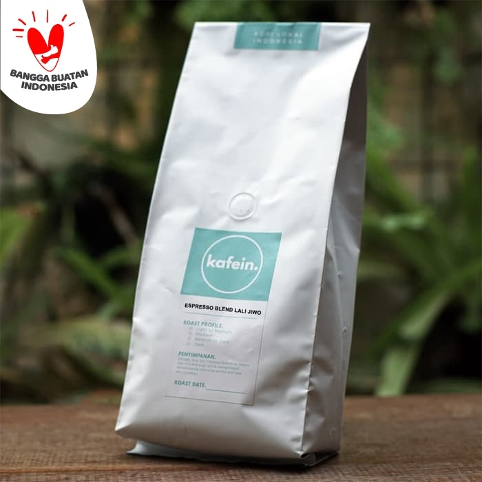 Foto Produk Kopi Espresso Blend Lali Jiwo 1 Kg (Biji/Bubuk) - Biji dari Kafein