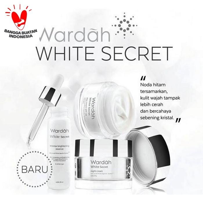Foto Produk PAKET WARDAH WHITE SECRET CREAM17ml dari Klein Beauty