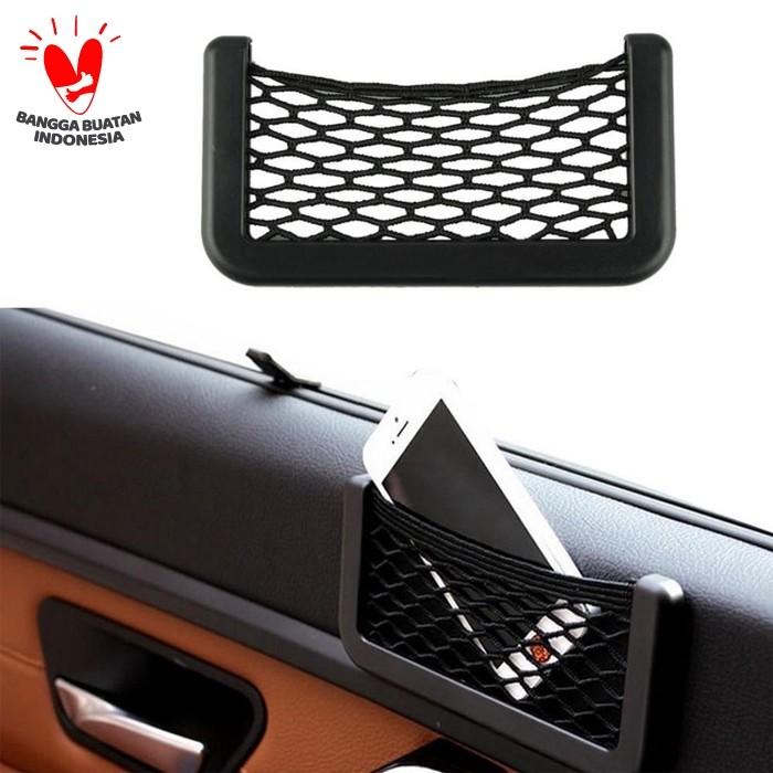 Foto Produk kantong jaring mobil / car storage net organizer dari Best Accessories